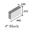Four Inch Fairfaced Block