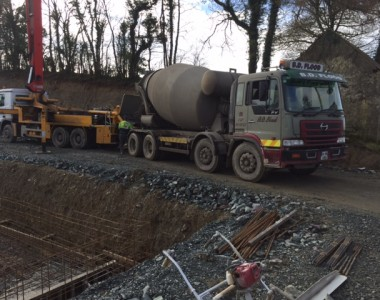 Concrete Pour at Arvagh