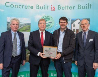 BD Flood Wins Award at Irish Concrete Federation Health & Safety Awards 2018