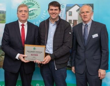 BD Flood Wins Award at Irish Concrete Federation Health & Safety Awards 2018